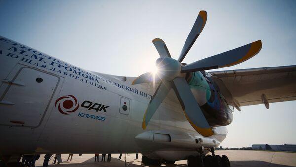 Testiranje avio-motora TV7-117ST za vojne avione Il-112V i civilne avione Il-114-300 - Sputnik Srbija