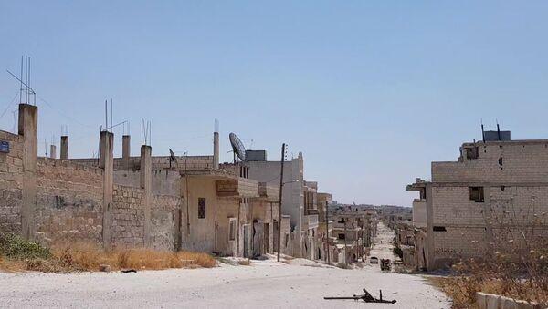 Сиријски град Хан Шејхун у провиницији Идлиб након ослобођења од терориста - Sputnik Србија
