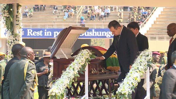 Ivica Dačić na sahrani Roberta Mugabea - Sputnik Srbija