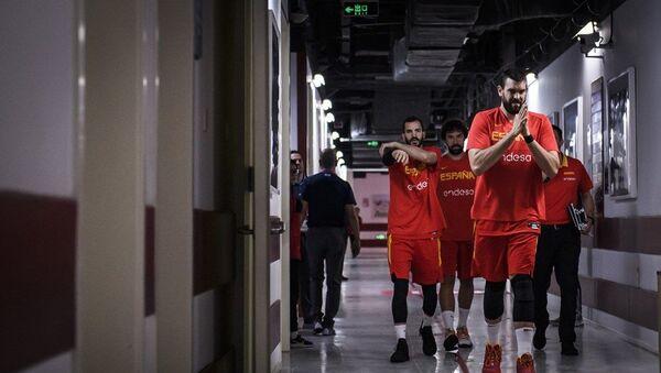 Репрезентативци Шпаније пред меч великог финала са Аргентином - Sputnik Србија