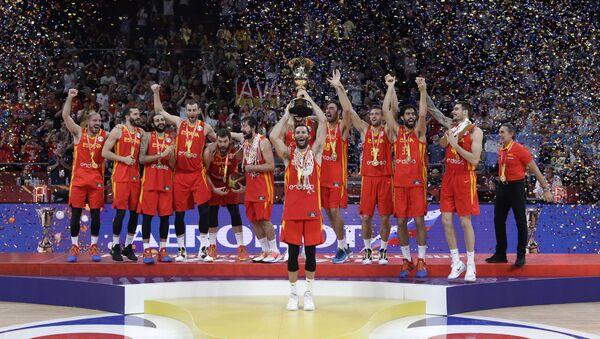 Шпански кошаркаши - Sputnik Србија