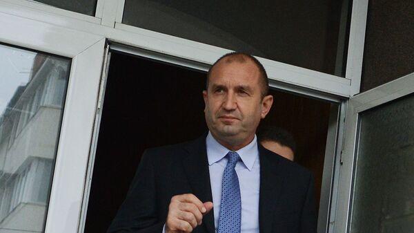 Kandidat v prezidentы stranы ot Bolgarskoй socialističeskoй partii Rumen Radev - Sputnik Srbija