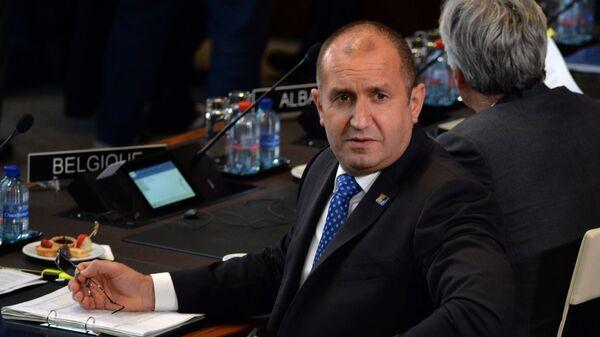 Predsednik Bugarske Rumen Radev - Sputnik Srbija