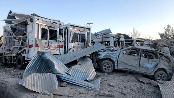 Eksplozija kod bolnice u Avganistanu - Sputnik Srbija
