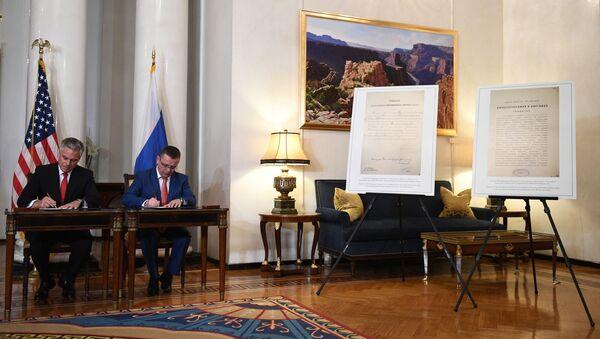 Američki ambasador predaje Rusiji ukaze Nikolaja II  - Sputnik Srbija