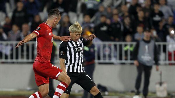 Фудбалери Партизана у Хумској играју прву утакмицу групне фазе Лиге Европе против холандског АЗ Алкмара - Sputnik Србија