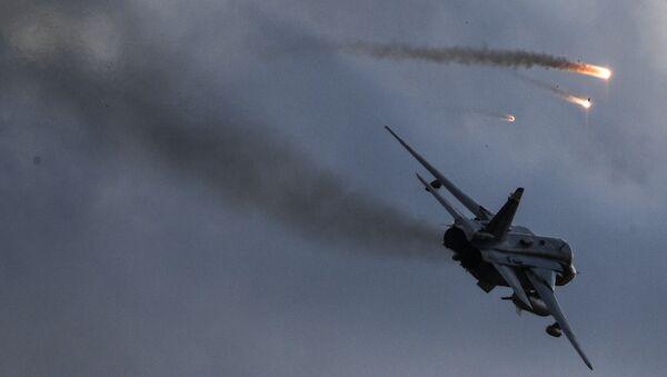 Bombarder Su-24 na vojnim vežbama Centar 2019 - Sputnik Srbija