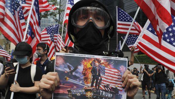 Демонстрације у Хонгконгу - Sputnik Србија