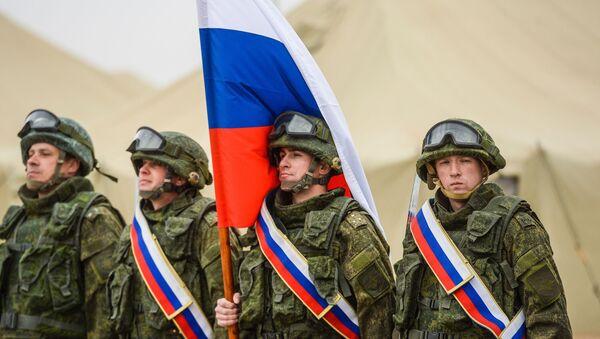 Руски војници у Таџикистану - Sputnik Србија