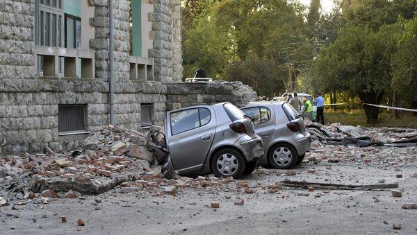 Земљотрес у Албанији - Sputnik Србија