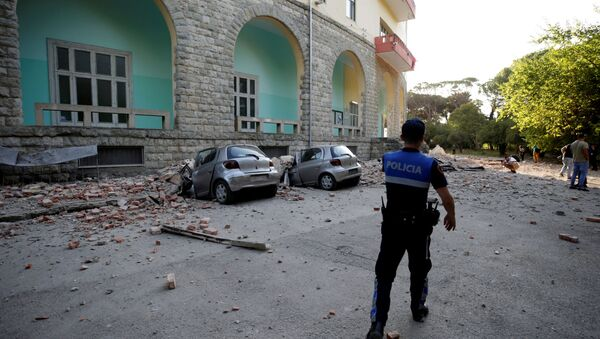 Zemljotres u Albaniji - Sputnik Srbija
