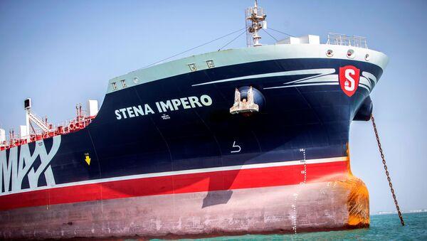 Tanker Stena impero koji plovi pod zastavom Velike Britanije - Sputnik Srbija