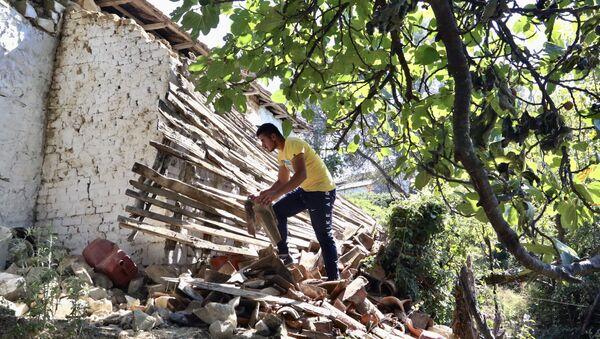 Последице земљотреса у Албанији - Sputnik Србија