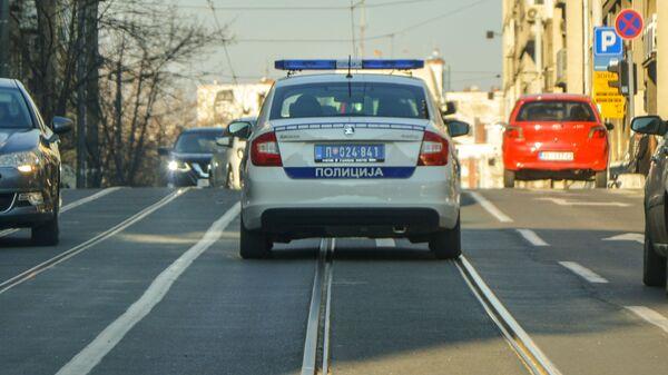 Полицијска кола у Београду - Sputnik Србија