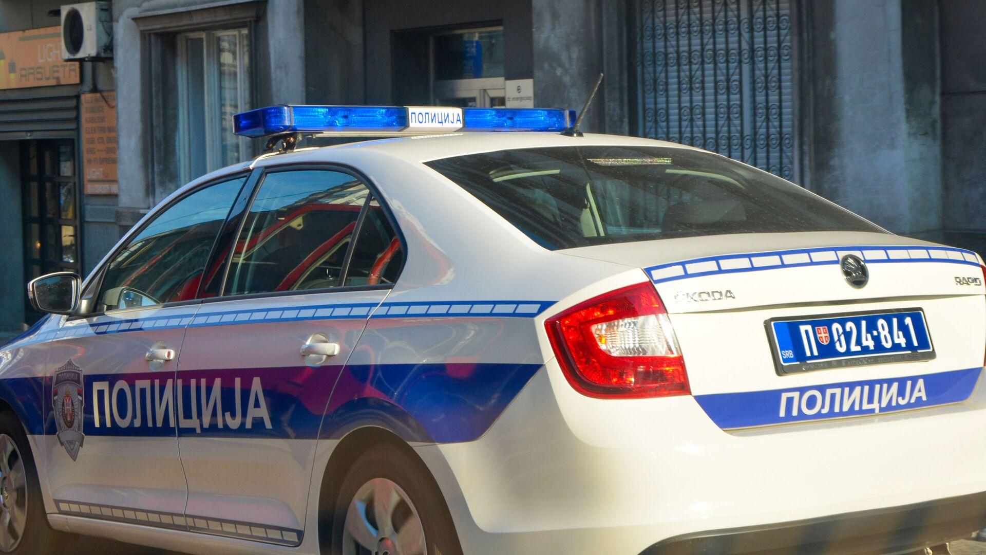 Policijska kola  - Sputnik Srbija, 1920, 29.09.2021