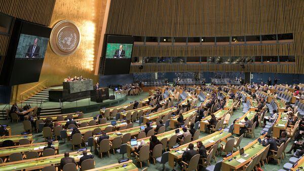 Сергеј Лавров у Генералној скупштини УН - Sputnik Србија