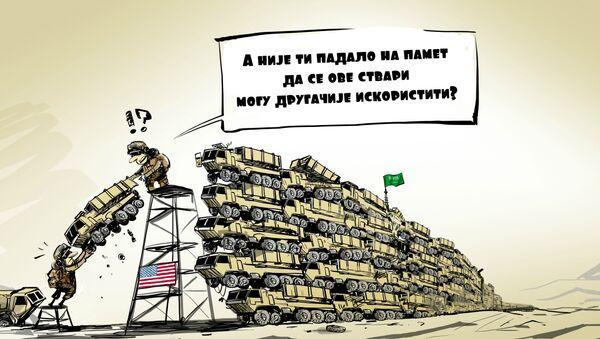 "Додатна батерија система ""Патриот"" за Саудијску Арабију - Sputnik Србија"