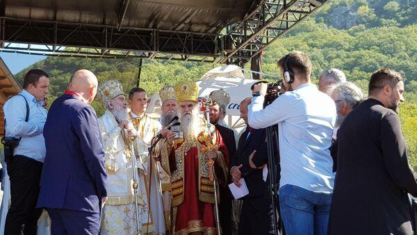 Centralna proslava obilježavanja 800 godina autokefalnosti SPC u Crnoj Gori i Boki - Sputnik Srbija