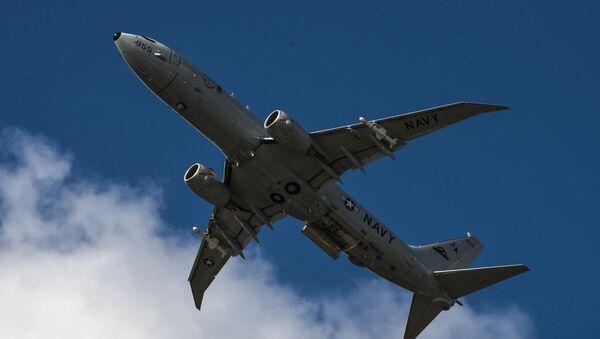 Амерички патролни авион Боинг П-8А Посејдон  - Sputnik Србија