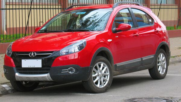 Кинески аутомобил произведен у Латинској Америци - Sputnik Србија