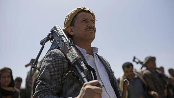 Šiitski pobunjenici Huti u Jemenu - Sputnik Srbija