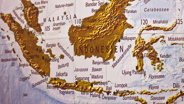 Мапа Индонезије - Sputnik Србија