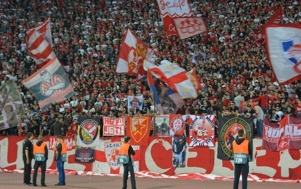 Спектакл на стадиону Рајко Митић - Sputnik Србија