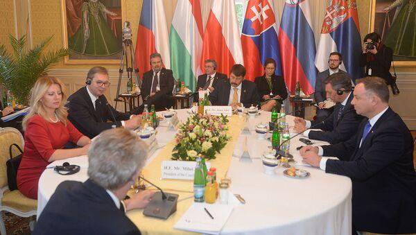 Samit Višegradske grupe u Pragu - Sputnik Srbija