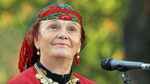Bugarska narodna pevačica, Valja Balkanska, narodna umetnica, pevačica - Sputnik Srbija