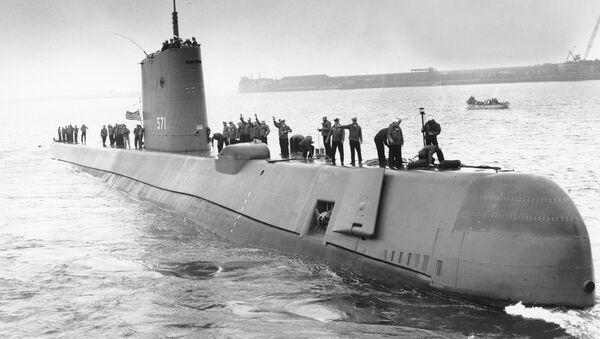Прва америчка нуклеарна подморница USS Nautilus (SS-571) - Sputnik Србија