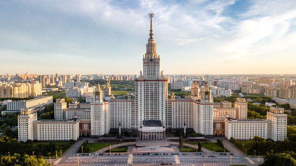 Zgrada Moskovskog državnog univerziteta Lomonosov - Sputnik Srbija