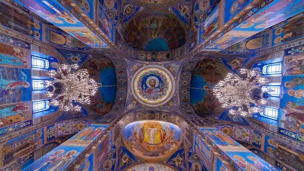 Svod Crkve Spasa na krvi u Sankt Peterburgu - Sputnik Srbija