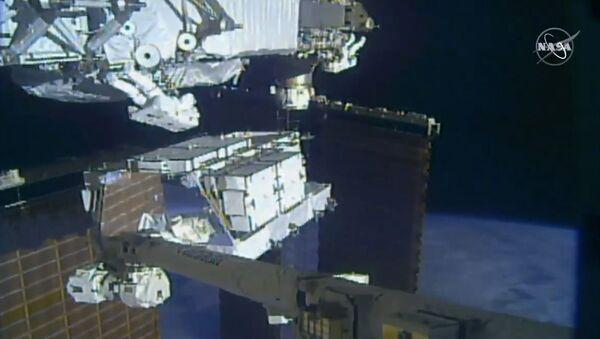 Астронаути раде на Међународној свемирској станици - Sputnik Србија