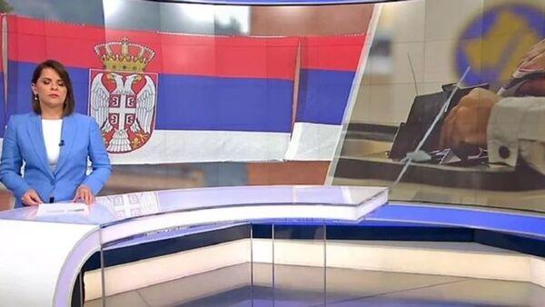 Прилог на ХРТ-у о изборима на КиМ - Sputnik Србија