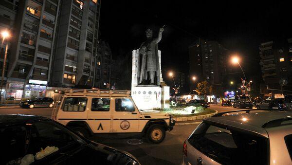 Северна Митровица непосредно после затварања биралишта - Sputnik Србија