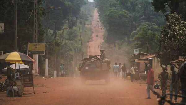 Francuski vojnici patroliraju jugozapadnim delom Centralnoafričke Republike - Sputnik Srbija