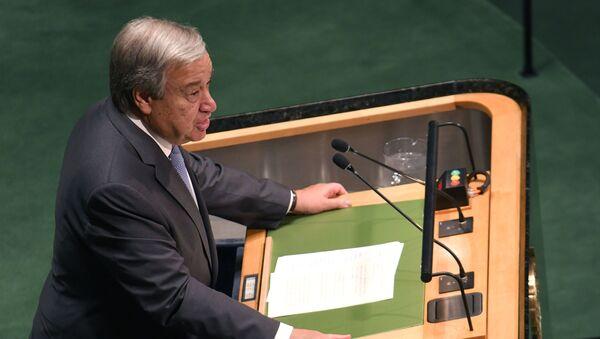 Generalni sekretar UN Antonio Gutereš  - Sputnik Srbija