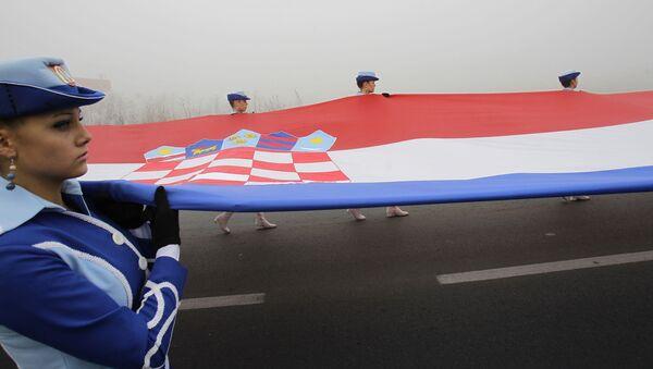 Хрватска, застава - Sputnik Србија