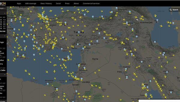 Опустео ваздушни простор око Сирије - Sputnik Србија