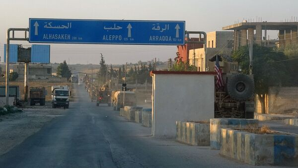 Америчке трупе у Сирији - Sputnik Србија