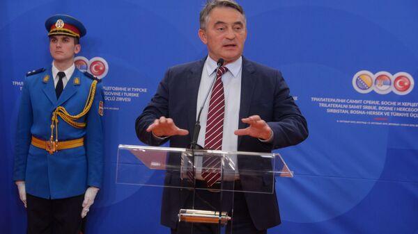 Željko Komšić na konferenciji za novinare posle Trilateralnog sastanka - Sputnik Srbija