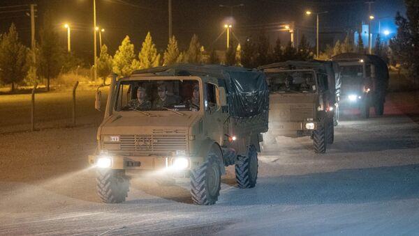 Турска војска у близини границе са Сиријом - Sputnik Србија