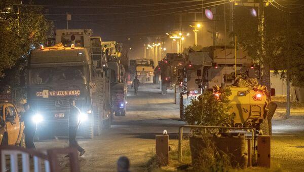 Turska vojska u blizini granice sa Sirijom - Sputnik Srbija