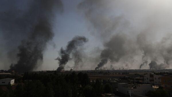 Sukobi na granici Sirije i Turske - Sputnik Srbija