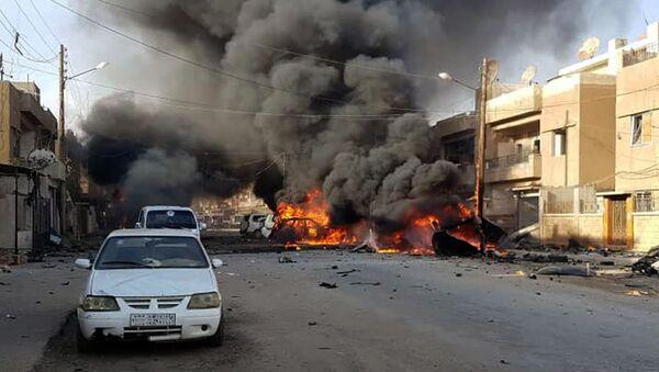 Sukobi turskih snaga i Kurda u Siriji - Sputnik Srbija