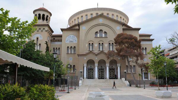Hram Velikomučenika Pantelejmona u Atini - Sputnik Srbija