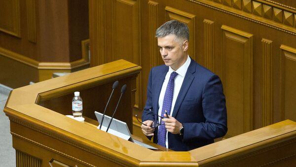 Министар спољних послова Украјине Вадим Пристајко - Sputnik Србија