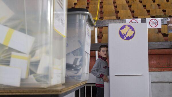 Glasački listići na izborima na Kosovu i Metohiji - Sputnik Srbija