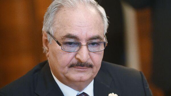 Komandant Libijske nacionalne armije Halifa Haftar - Sputnik Srbija