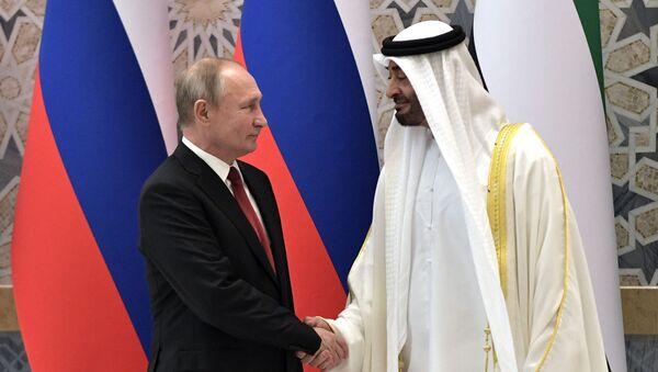 Председник Русије Владимир Путин у посети УАЕ - Sputnik Србија